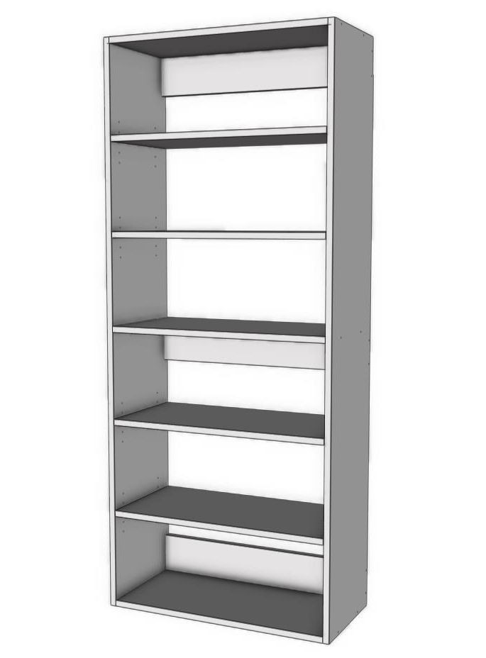 Tall Shelf Tower Unit